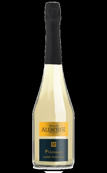 Frizzante gelber muskateller víno bez histamínu