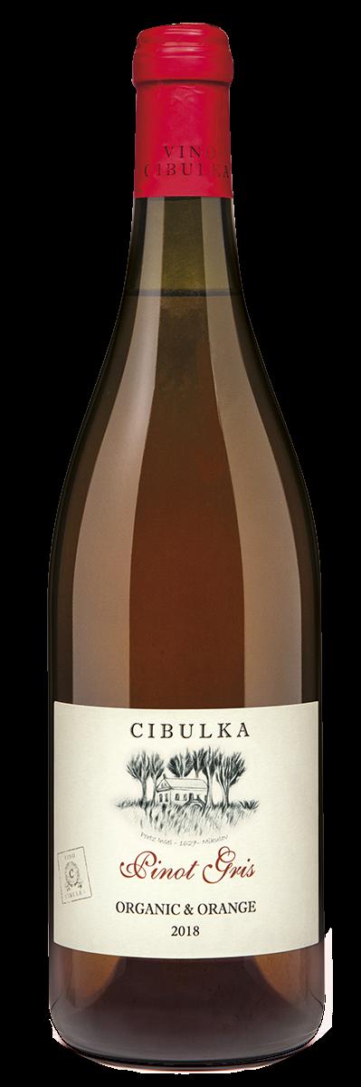 Pinot Gris Orange víno bez histamínu