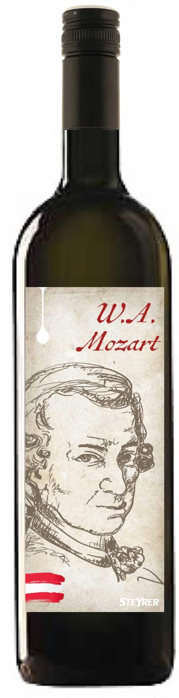 """Veltlín zelený """"W.A.Mozart"""" víno bez histamínu"""